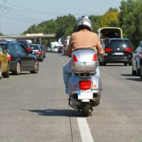 Ukiah, CA – One Injured in Motorcycle Accident on Knob Hill Rd