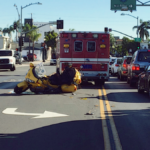 San Francisco, CA – Motorcyclist Injured in Multi-Vehicle Crash on I-80